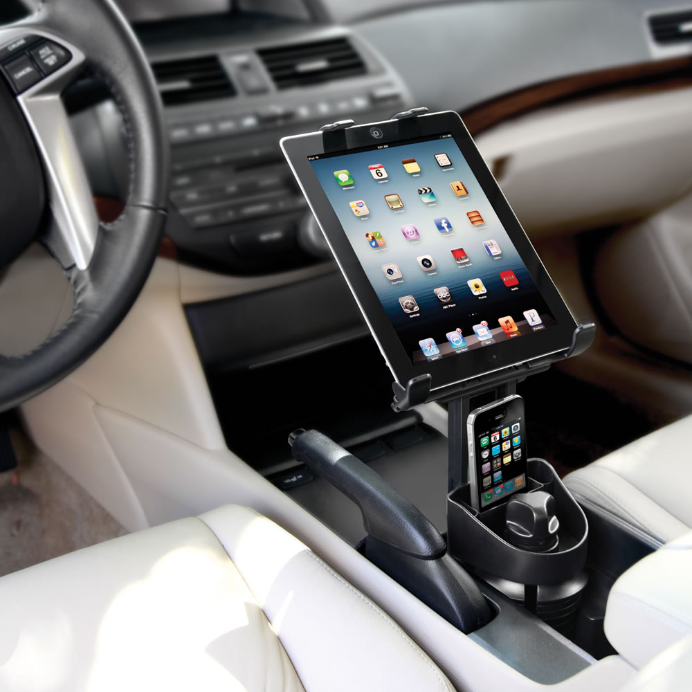 The Automobile iPad Cupholder Mount