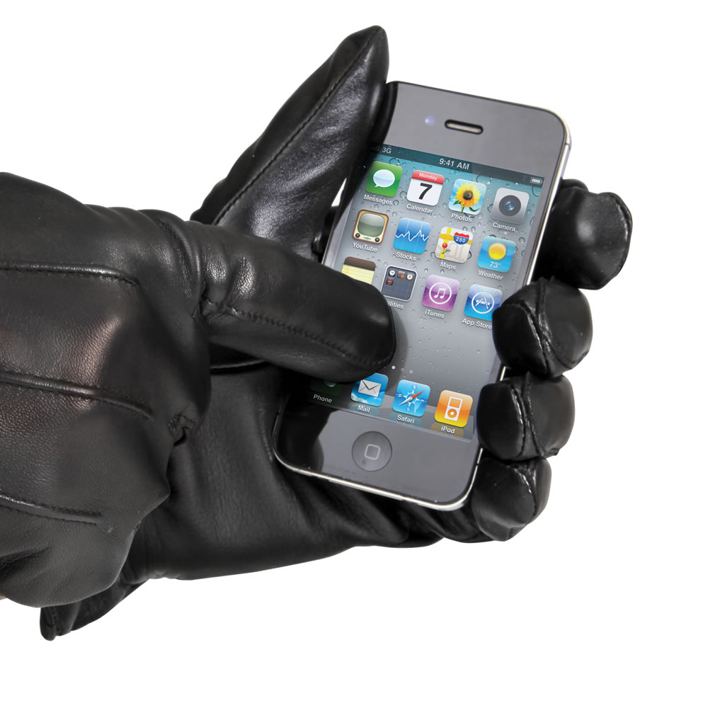 The Touchscreen Compatible Gloves