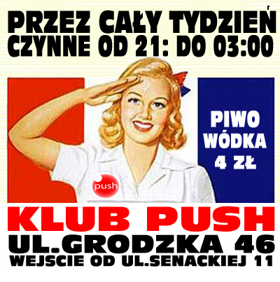 piatkowe Party Push'owe