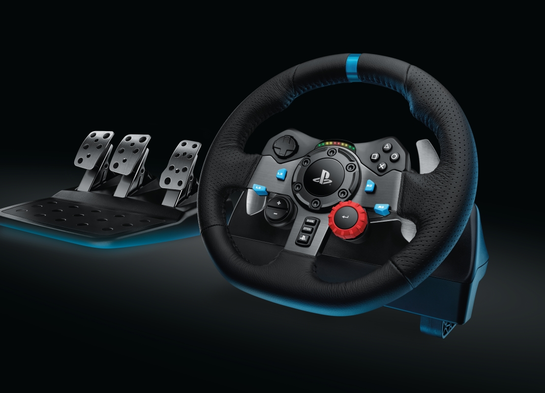 G29 - kierownica dla Playstation4