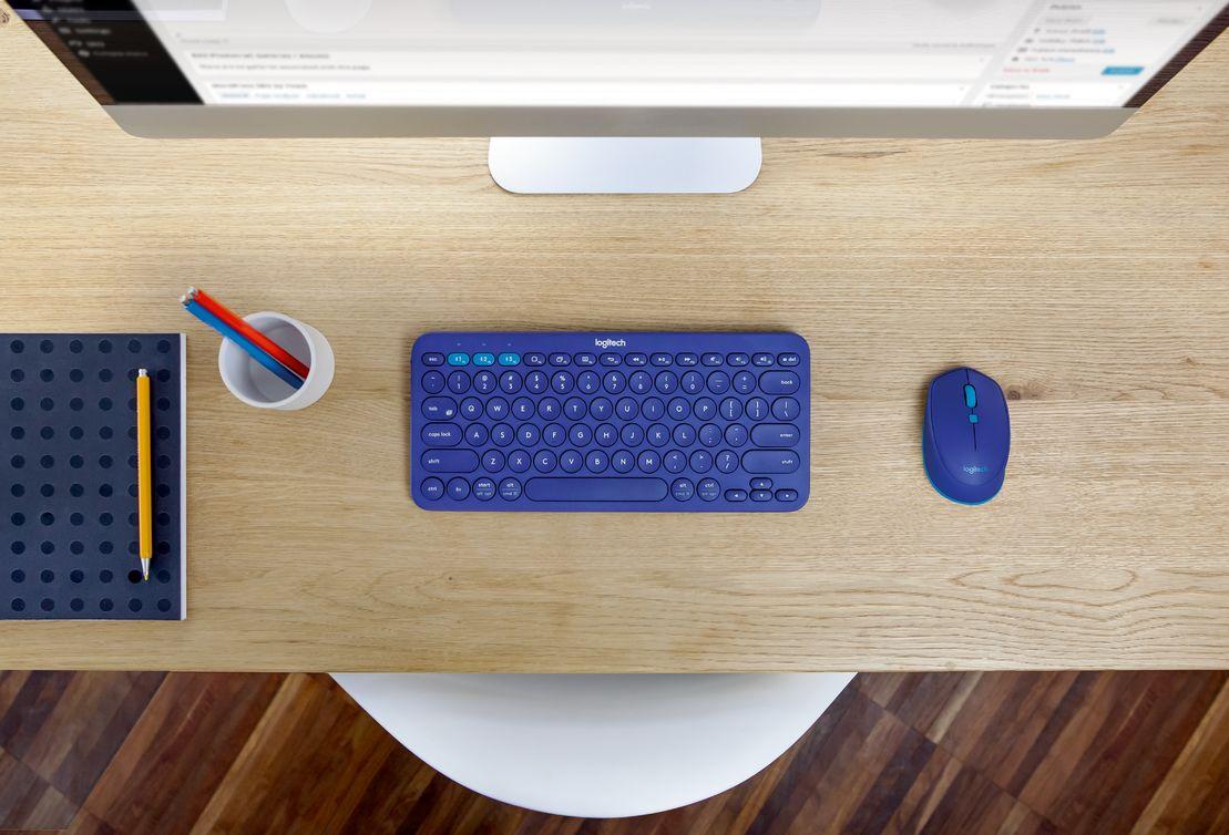 Logitech zaprezentował nową klawiaturę Logitech K380 oraz myszkę Logitech M535