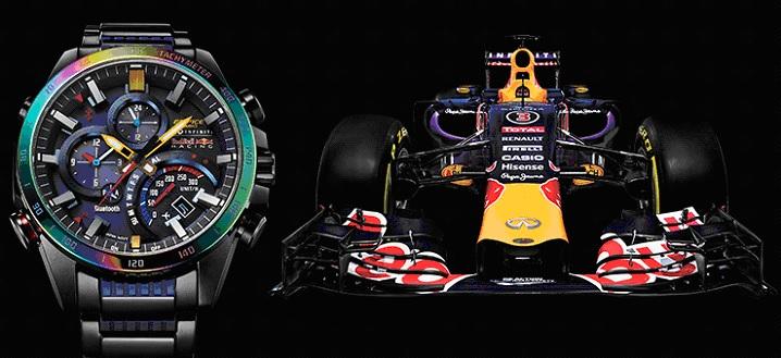 Limitowana edycja CASIO Edifice F1 IRBR