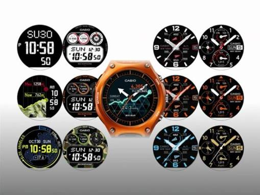 Smartwatch WSD-F10 (Smart Outdoor Watch)