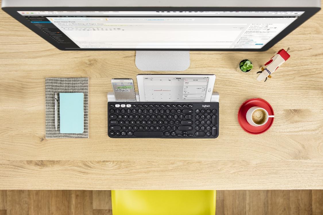 Logitech K780 Multi-Device: jedna klawiatura dla wielu urządzeń