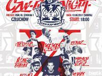 X edycja festiwalu CZW RAP NIGHT - Człuchów 2017