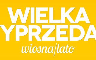 WIELKA WYPRZEDAŻ kolekcji wiosna/lato 2013!!!